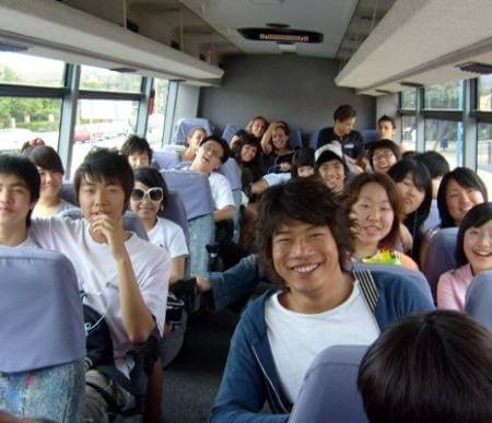 ACOL English School Gold coast Study Tour bus excursion