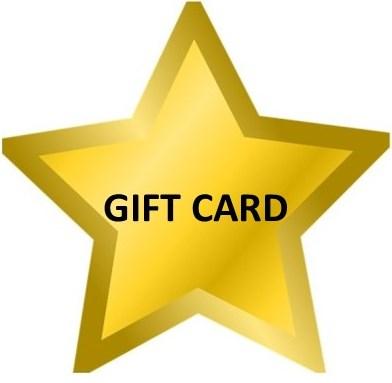 English school gift card